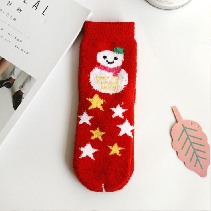 Шкарпетки з новорічним принтом