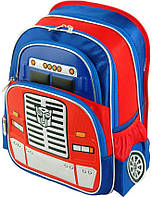 Необычный школьный рюкзак сфасадом в виде кабины грузовика на21 л. SH 7005-28, темно-синий