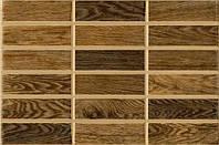 Плитка настенная Intercerama Madera коричневая темная 23х35