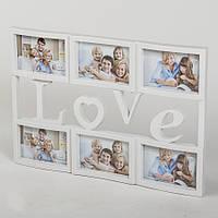 Фотоколлаж white 50 x 34 см
