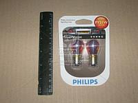 Лампа накаливания PY21W 12V 21W BAU15s SilverVision (blister 2шт) (производство Philips) (арт. 12496SVB2), ACHZX