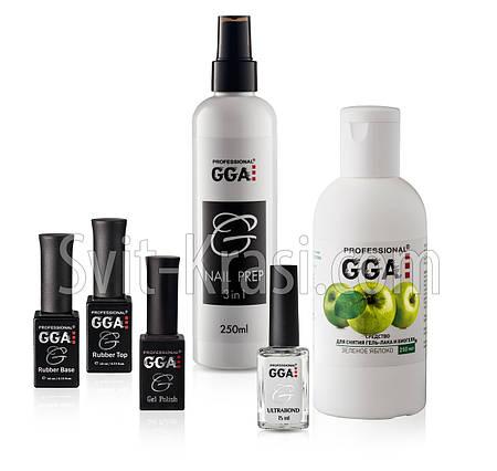Полный набор для гель лака GGA Professional  Суперцена!