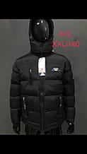 Куртка мужская, зимняя, удлиненная A12
