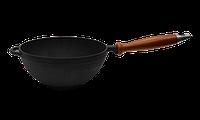 Кастрюля WOK с деревянной ручкой (d=200 мм, h=90 мм, V=1,7л) 4820067773794