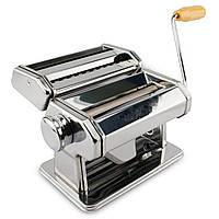 Машинка для раскатывания теста и приготовления пасты тестораскатка-лапшерезка, фото 1