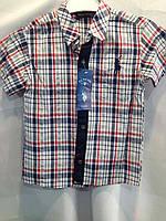 Рубашка на 6-10 лет Клетка