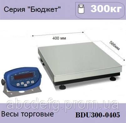 """Товарные весы AXIS BDU300-0405 """"Бюджет"""""""