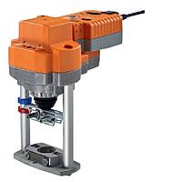 AVK230A-3 электропривод седельного клапана 2000Нм, 150/35сек, 3-х точечное управление, 220Вт. c пружиной