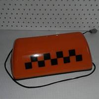 Знак фишка шашка такси оранжевый