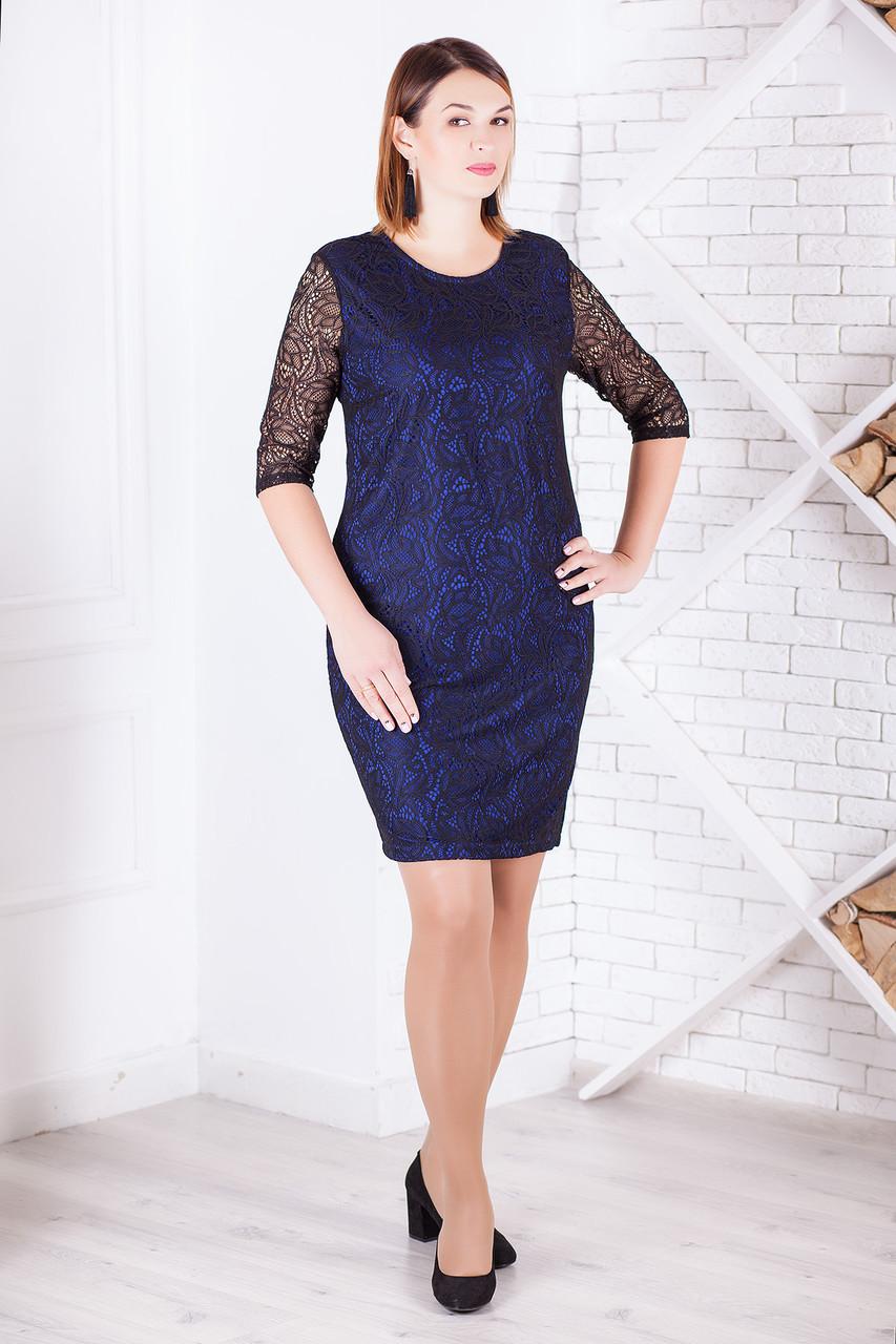 """Вечернее гипюровое платье """"Лавлетта"""" большие размеры, разные цвета!"""