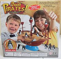 Детская веселая игра Пиратский корабль с пингвинами Boat Pirates, фото 1