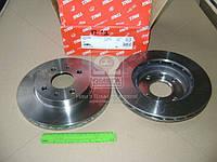 Диск тормозной ВАЗ 2110 передний вентилируемый R 13 (Производство TRW) DF4108, AEHZX