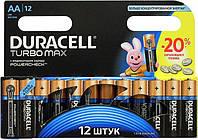 Батарейка Duracell LR 06 turbo max 12шт/уп