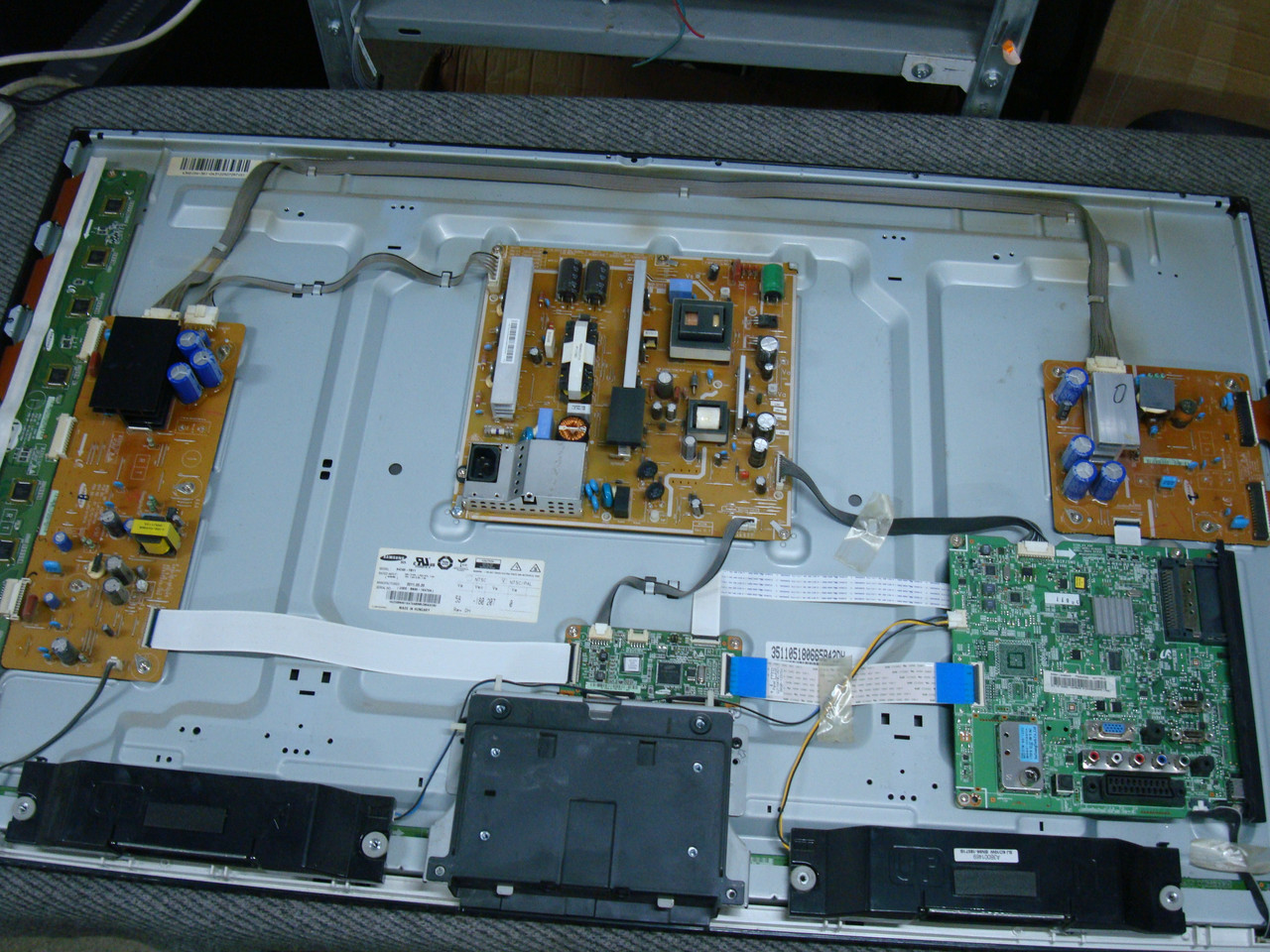 Запчасти к телевизору Samsung PS43D451A3W (BN41-01632C, BN44-00442B, LJ41-09475A, LJ41-09478A)