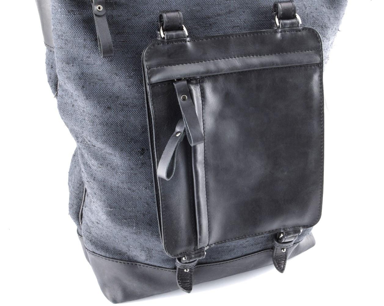 51ed005c0b78 Крутой рюкзак для мужчин из кожи и прочной ткани, цена 4 000 грн., купить в  Киеве — Prom.ua (ID#627992958)