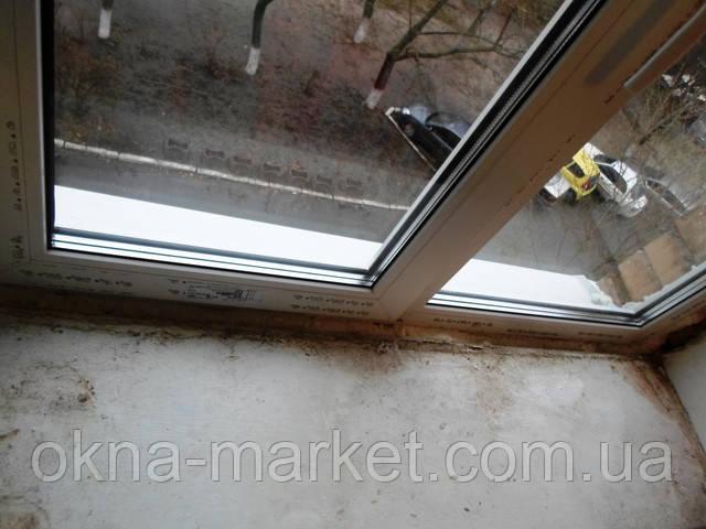 Окна с фрамугой Rehau