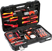 Набор инструментов для электриков 68 элементов YATO YT-39009