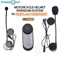 Bluetooth FreedCoon T-COM02S Helmet Interphone блютуз гарнитура на мото шлем