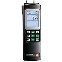 Testo, 521-3 Прибор для измерения дифференциального давления от 0 до 2,5 гПа