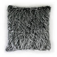 Подушка для дивана Home4You TREND  50x50cm  серая с длинным ворсом