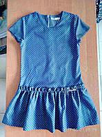 Детские платья 7-10 лет в мелкий горошек