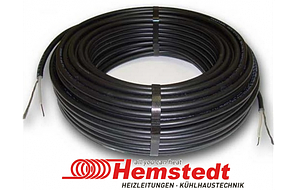Тёплый пол в стяжку под ламинат, кафель 1.9 - 2.2 м.кв 300 Вт. Одножильный кабель Hemstedt. Гарантия 20 лет.