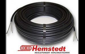 Тёплый пол в стяжку под ламинат, кафель 3.1 - 3.7 м.кв 500 Вт. Одножильный кабель Hemstedt. Гарантия 20 лет.