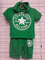 Костюм на мальчика  размер 2-6 лет All Star зеленый