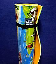 """Детский развивающий коврик HappyKinder """"Disney Heroes PREMIUM XXL""""  2500х1200х12 мм (KD-XXL Premium), фото 3"""
