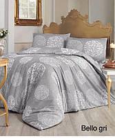 Комплект евро постельного белья Bella gry