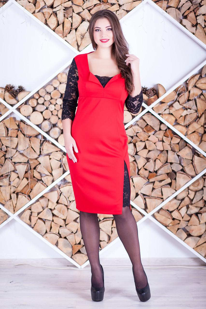 """Женское красивое платье """"Алисита 2"""" большие размеры"""