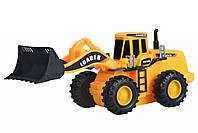 Машинка Same Toy Mod-Builder Трактор-погрузчик 29 см, детский трактор, строительная спецтехника