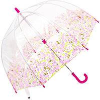 Детский облегченный зонт, механический, принт колоски FULTON FULC605-Pretty-Petals