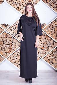 """Длинное платье """"Валентино"""" большого размера, разные цвета!"""