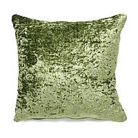 Подушка для дивана Home4You MEDICI  50x50cm  фисташковая с атласным отливом