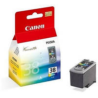 Картридж Canon CL-38, Color, iP1800/1900/2500/2600, MP140/190/210/220/470, MX300/310, 9 ml, OEM (2146B005)