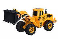 Машинка Same Toy Mod-Builder Трактор-погрузчик 47 см, строительная спецтехника