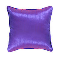 Подушка для дивана Home4You INDIGO 2  45x45cm   лиловый  с атласным отливом