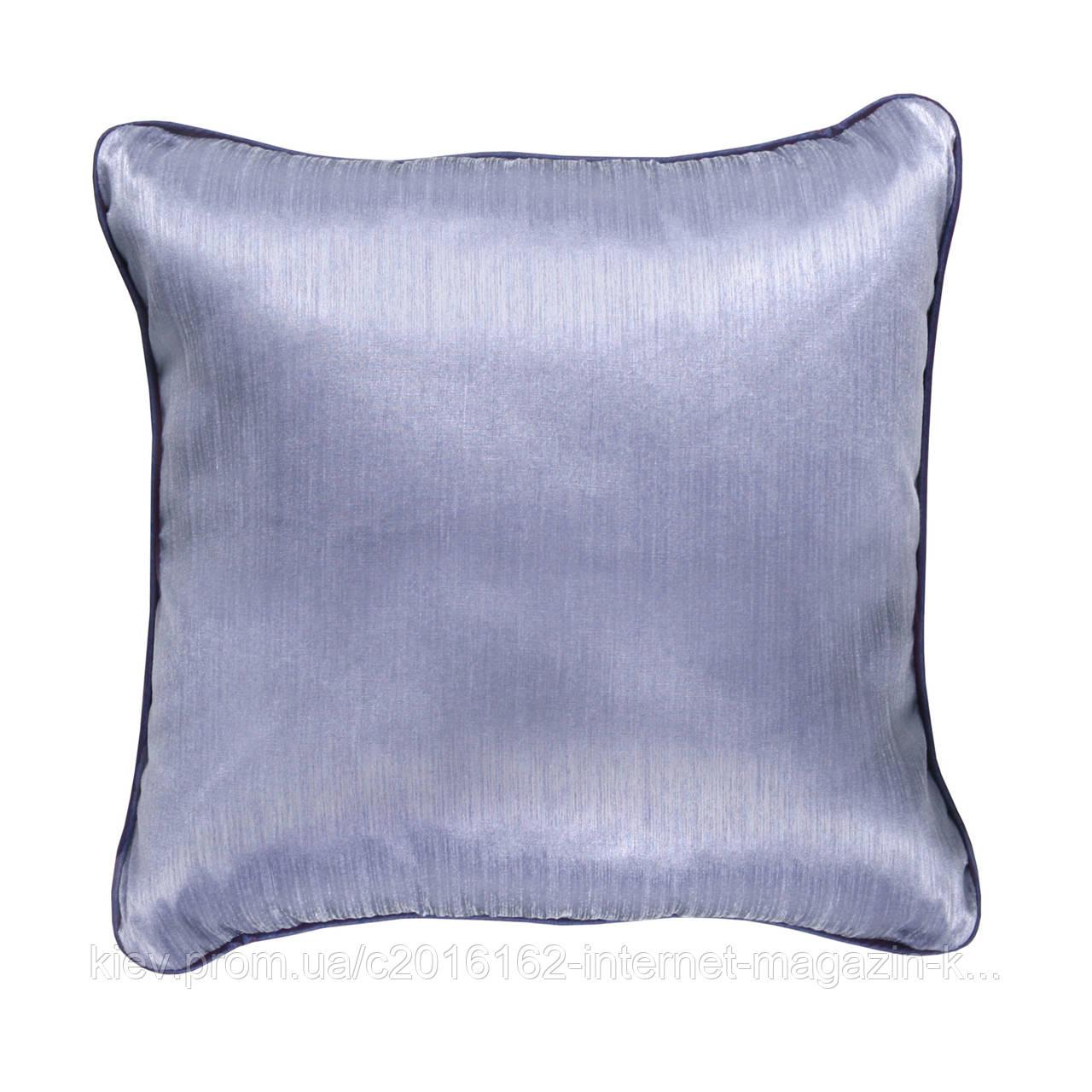 Подушка для дивана Home4You INDIGO 2  45x45cm  светло-лиловая с атласным отливом