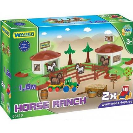 """Игровой набор Wader """"Ранчо с дорогой 1,6 м Kid Cars 3D"""" (53410), фото 2"""
