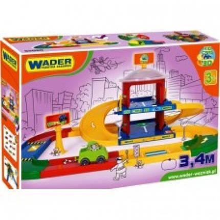 """Игровой набор Wader """"Гараж 2 уровня с дорогой 3,4 м"""" (53020), фото 2"""
