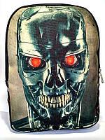 Джинсовый рюкзак Терминатор, фото 1