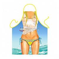 РОЗПРОДАЖ! Еротичний фартух - В мокрій футболці / Miss Wet T-Shirt