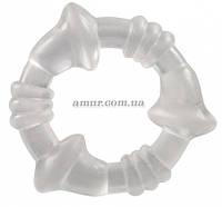 Эрекционное кольцо Cockring Clear , фото 1