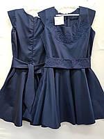Сарафан-платье для девочки 6-10 лет вышивка