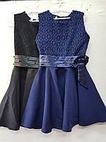 Сарафан-платье для девочки 6-10 лет