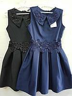 Сарафан-платье для девочки 7-10 лет вышивка