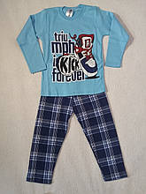 Пижама трикотажная для мальчика р.4,5,6 Турция