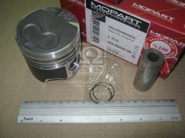 Поршень VAG 79,51 1,9TD AAZ/ABL (производство Mopart) (арт. 102-90530 00), AEHZX