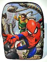 Джинсовый рюкзак Человек паук, фото 1